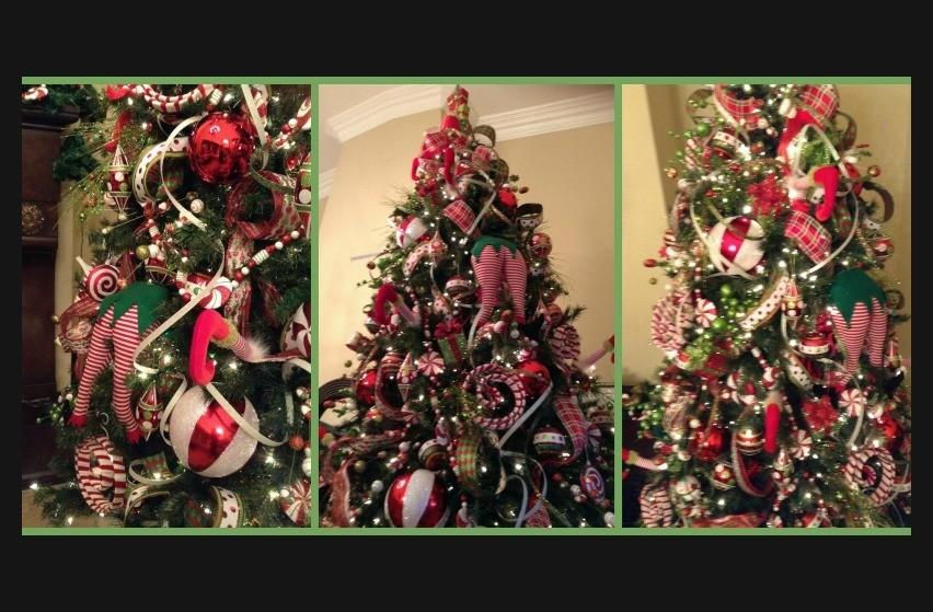 Como decorar el árbol de Navidad : el árbol de los piesitos