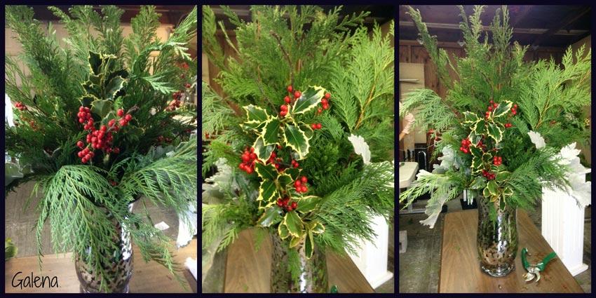 Navidad-Christmas-Arreglo-navideño-acebo-collage-1