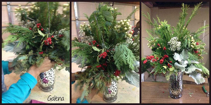 Navidad-Christmas-Arreglo-navideño-eucalipto-de-semilla-seeded-eucaliptus