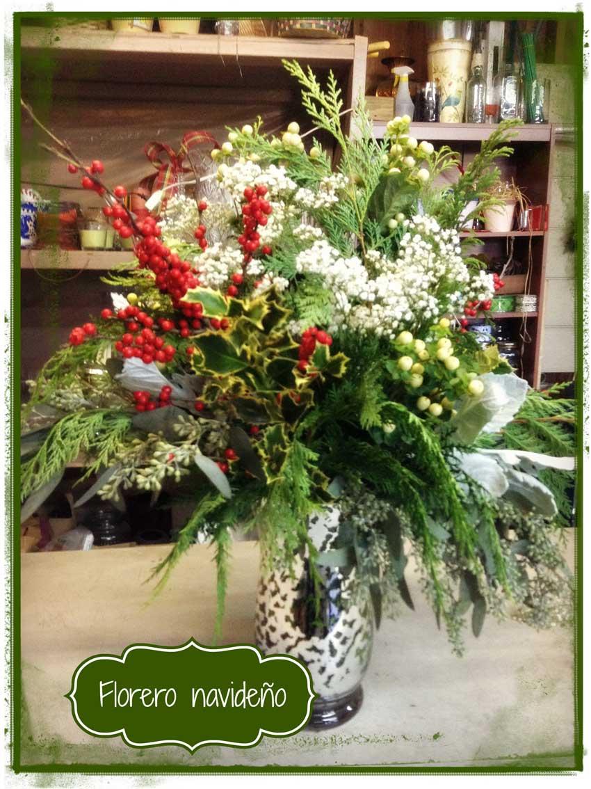 Navidad-Christmas-Arreglo-navideño-florero-de-navidad