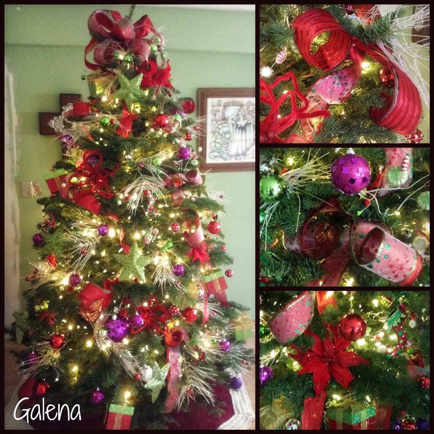 Ideas para decorar el rbol de navidad ana galena - Adornos para fotos gratis ...