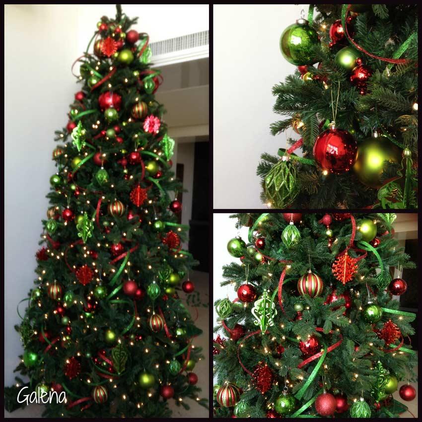 Ideas Para Decorar El Arbol De Navidad Ana Galena - Decoracion-de-arboles-de-navidad
