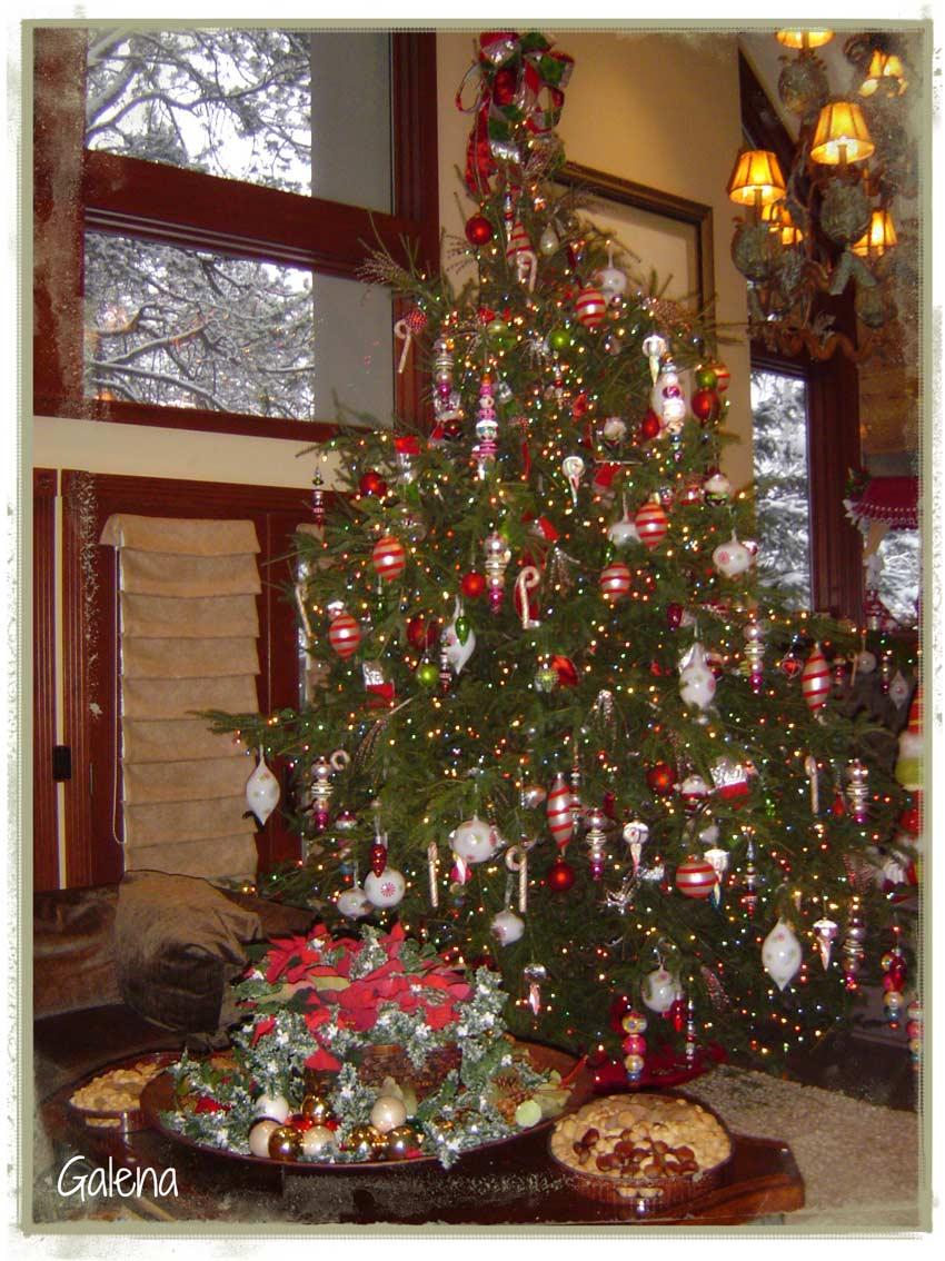Navidad en las monta as ana galena - Arbol tipico de navidad ...