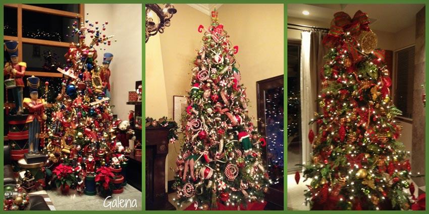 Para poner los listones al rbol de navidad ana galena for Ornamentacion para navidad
