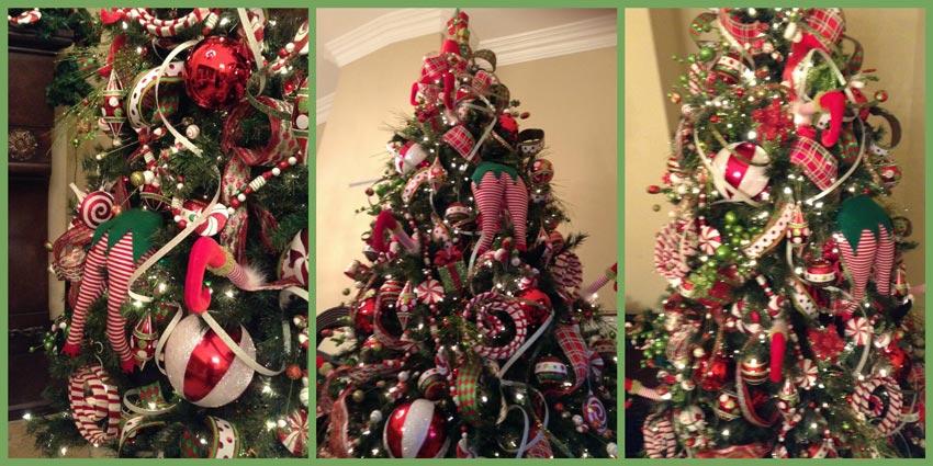 Ideas Para Decorar El Arbol De Navidad El Arbol De Los Caramelos - Como-decorar-el-arbol-navideo