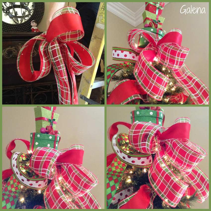 Para poner los listones al rbol de navidad ana galena - Arbol de navidad de bolas ...