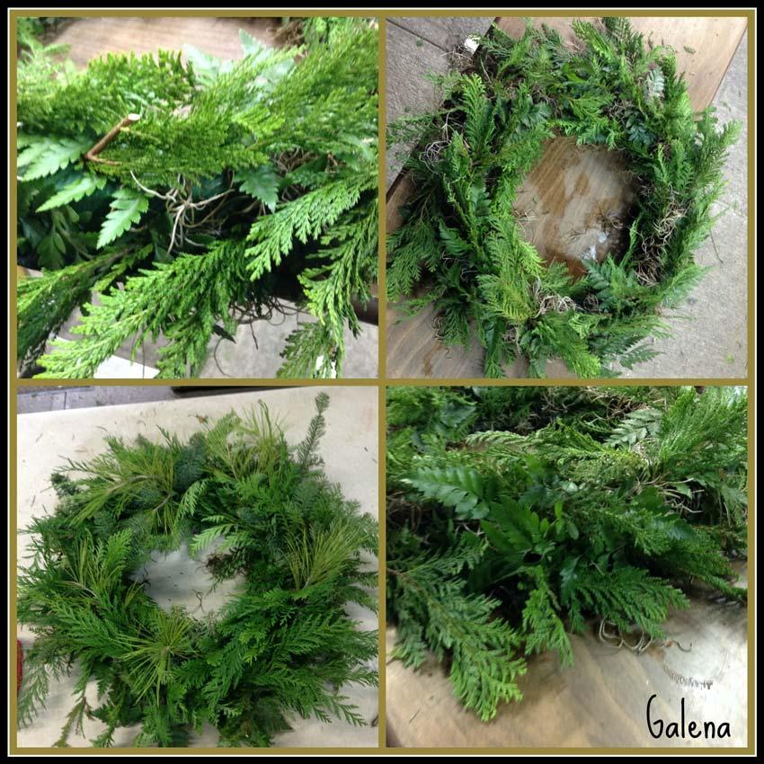 Navidad-Christmas-corona-navideña-poniendo-el-cedro
