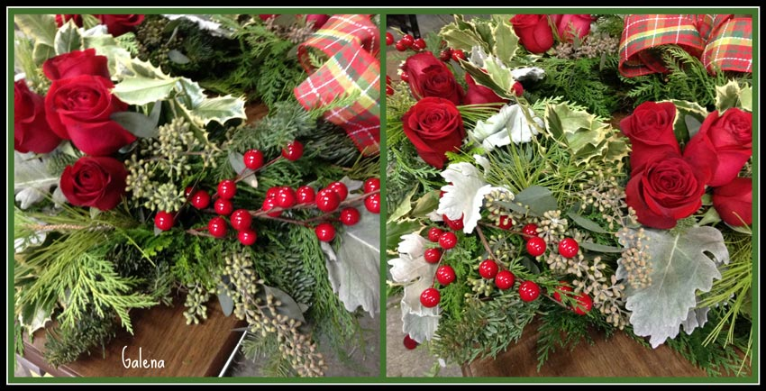 Navidad-Christmas-corona-navideña-toque-final-cherries
