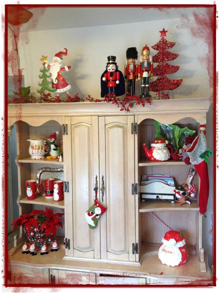 Ideas navide as un detalle en cada rinc n ana galena for Arreglo para puertas de navidad