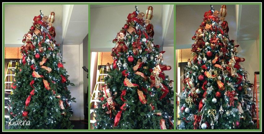 Navidad-Christmas-decorando-el-arbol-de-los-elfos