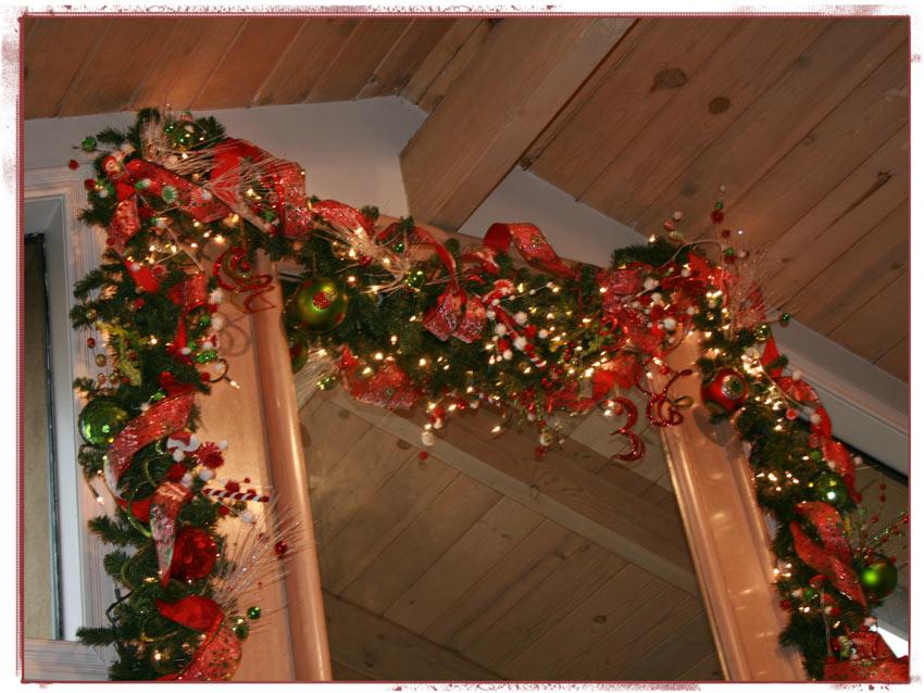 Navidad-Christmas-guirnalda-guia-navideña-chimenea-super-cerca