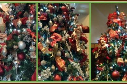 idea para decorar el arbol de navidad