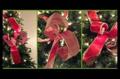 para poner los listones en el arbol de navidad