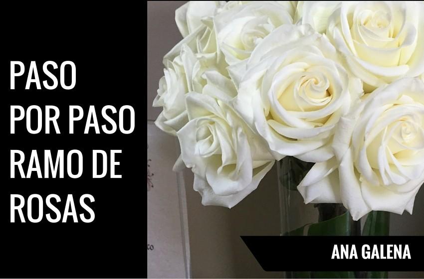 Pasos para hacer un ramo de rosas ana galena - Como hacer ramos de flores ...