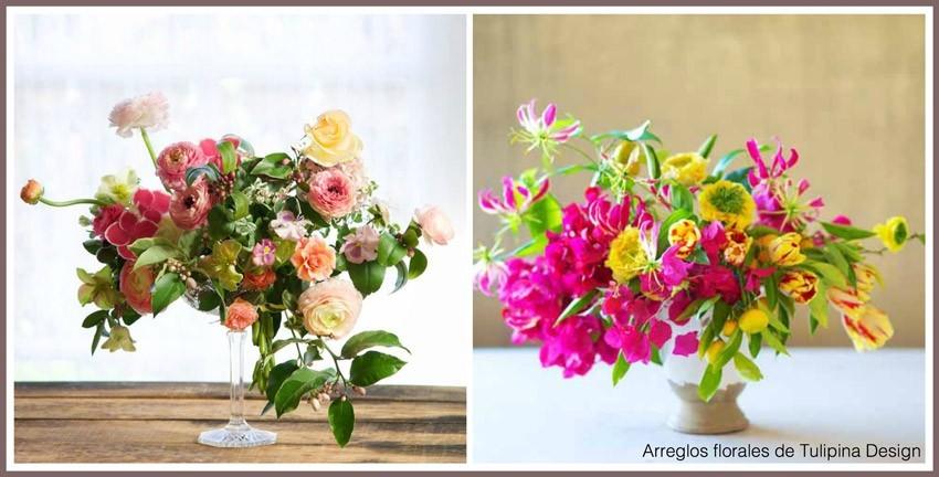 color y textura en las flores