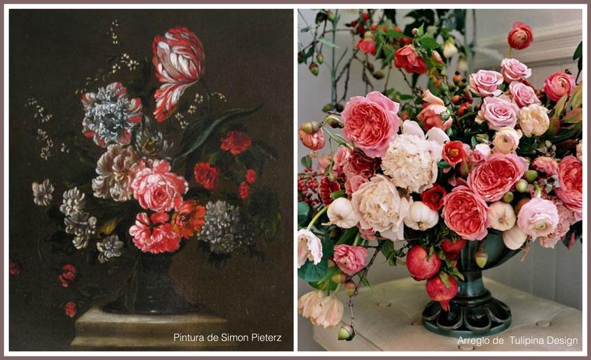 Inspirados en el arte de siglo XVIII