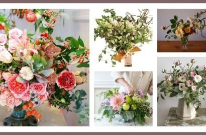 la moda en flores para el 2015