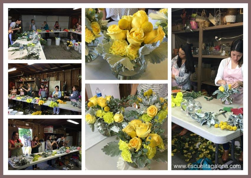 clases de diseño floral
