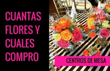 CUANTAS FLORES Y CUALES COMPRO