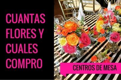 centro de mesa colorido como escoger y combinar flores