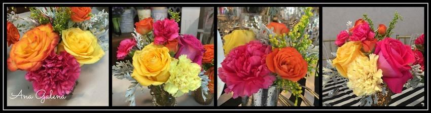 arreglo de flores colorido