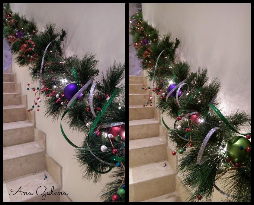decoracion de guirnaldas navideñas