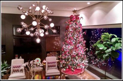 decorando de navidad