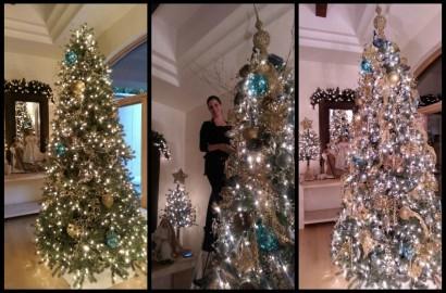 Arbol de navidad ana galena - Como poner el arbol de navidad ...