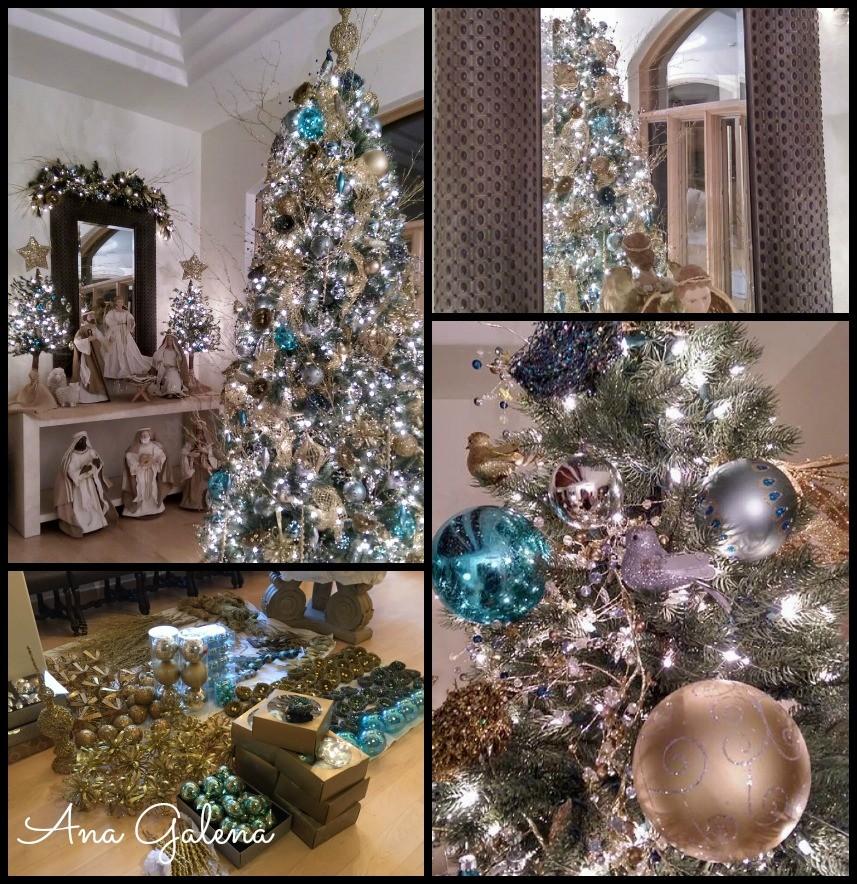 Como poner el rbol de navidad ana galena - Ideas para decorar estrellas de navidad ...