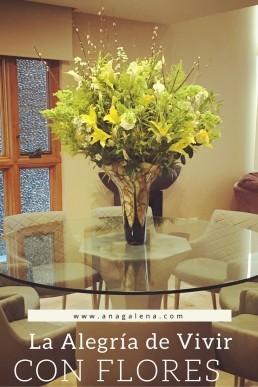 La Alegría de vivir entre flores