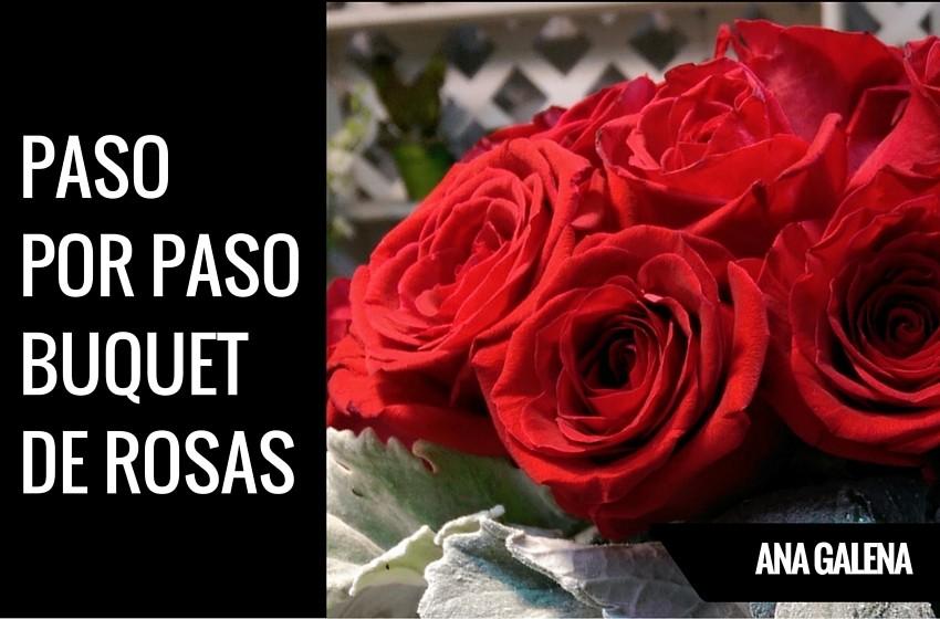 Como hacer ramos de rosas como hacer un ramo de rosas - Como hacer un ramo de flores artificiales ...