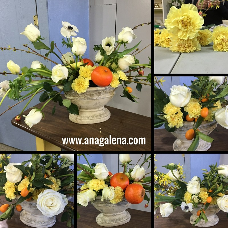 como hacer arreglo floral