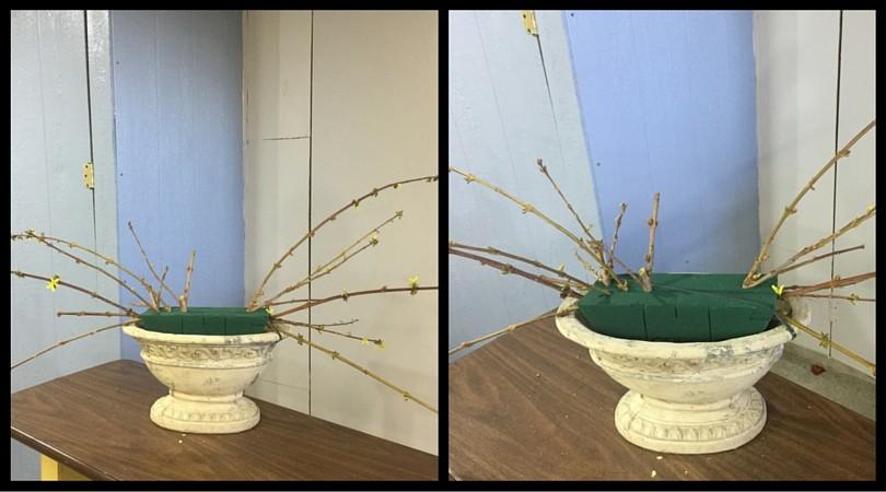 paso por paso como hacer arreglo de flores