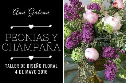 PEONIAS Y CHAMPAGNE