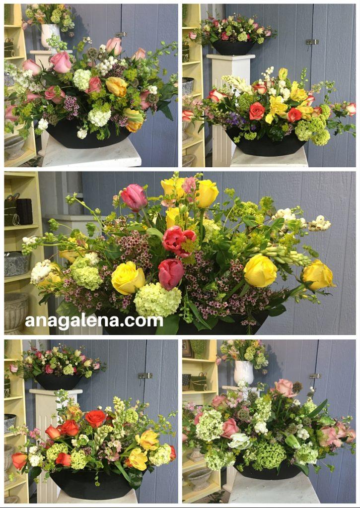 arreglos florales con soltura