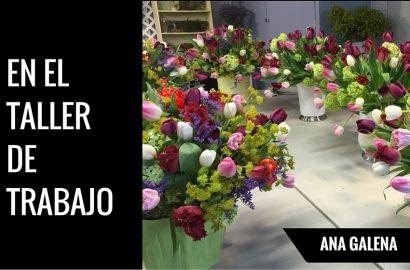 en una floreria