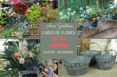 curso de flores rustico