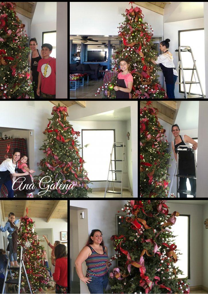 Navidad en julio ana galena - Como decorar mi arbol de navidad ...