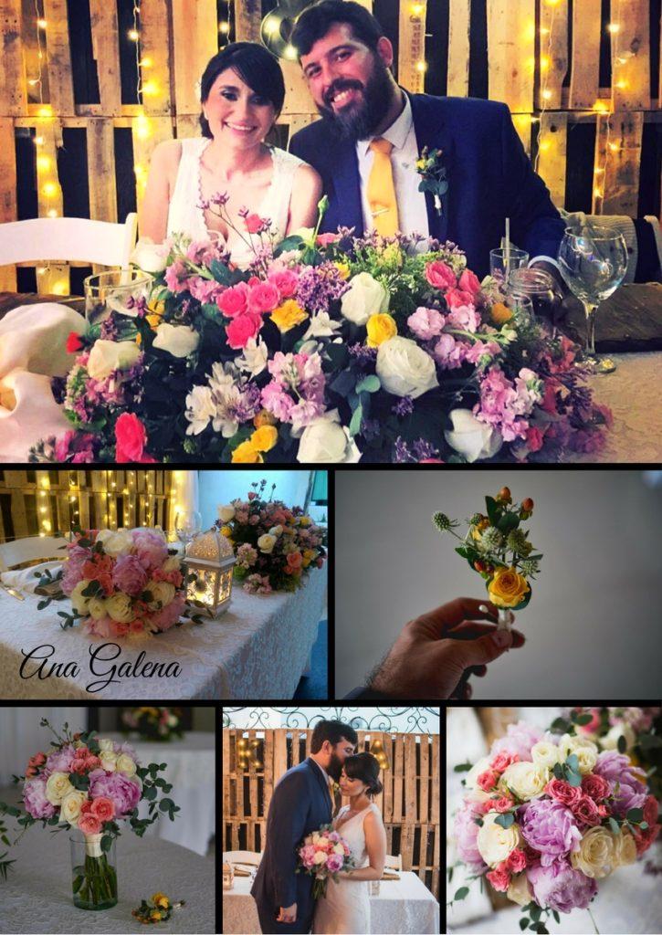 decoración boda rustico
