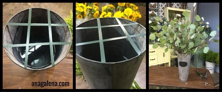 como-hacer-un-arreglo-de-girasoles-en-cubeta-alta-eucalipto