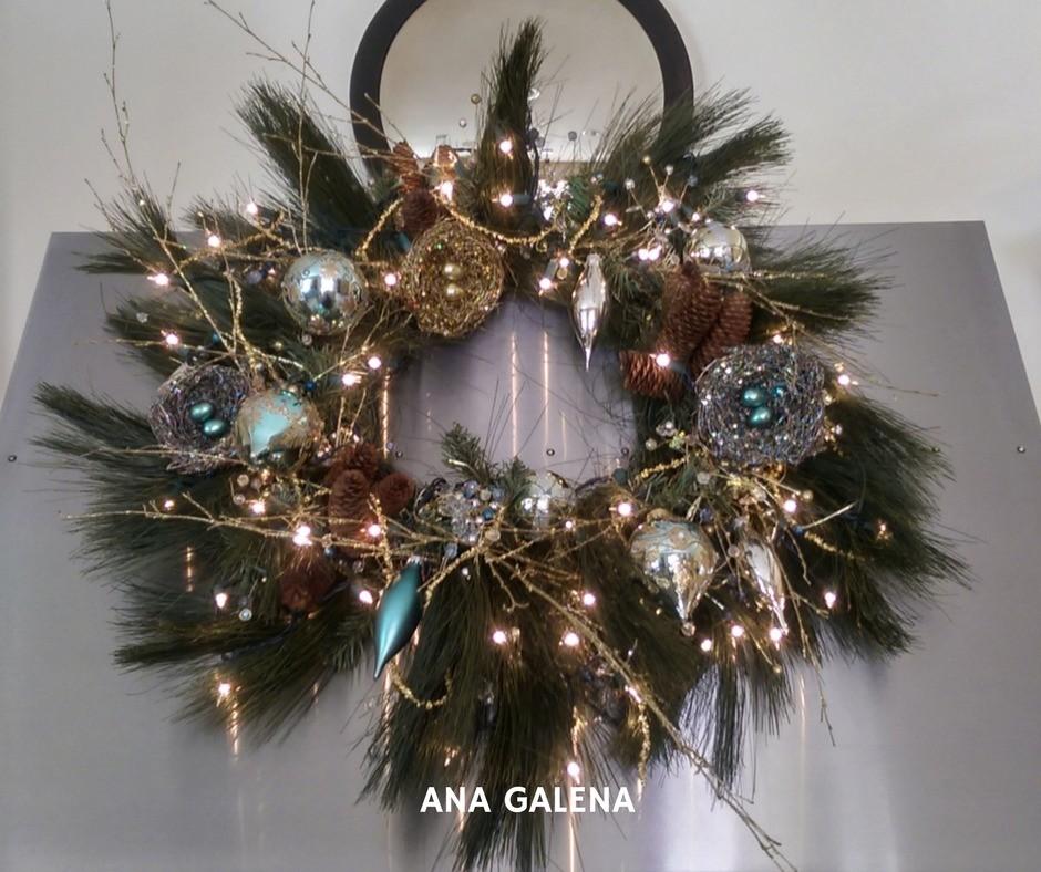 corona-de-navidad-azul-y-dorado-elegante-ideas