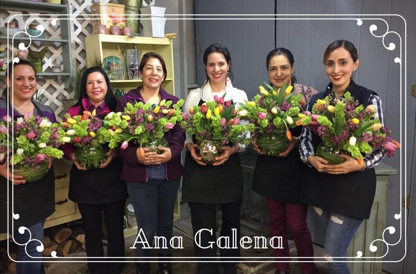 curso de flores GALENA