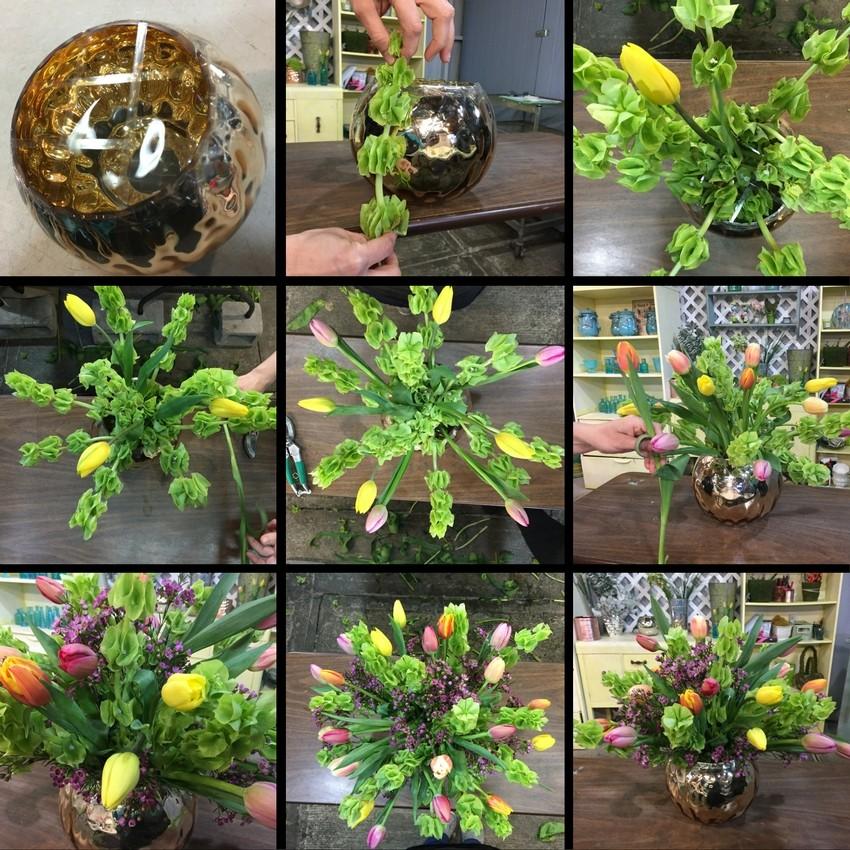 como-hacer-un-arreglo-floral-con-tulipanes