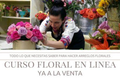Curso Floral en Linea Ana Galena