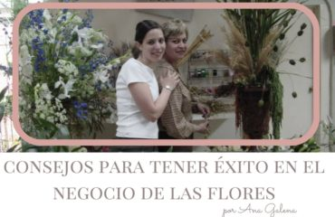 Ana Galena, curso de flores, diseñador floral