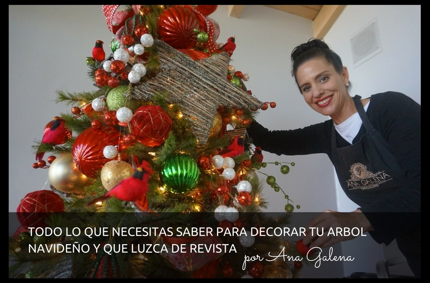 Como poner el arbol de navidad aqu en la celebracin te presentamos algunas ideas que te pueden - Como decorar mi arbol de navidad ...