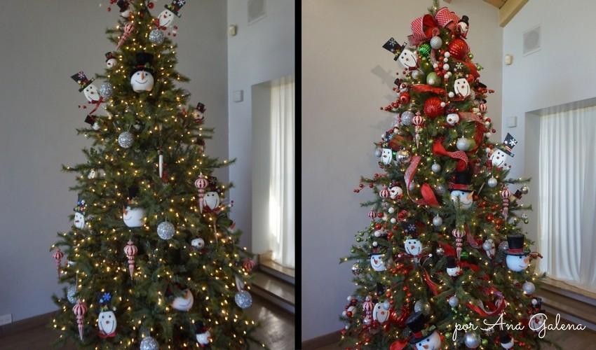 Tu árbol se ve como en la primer foto y quieres que se vea como en la segunda.