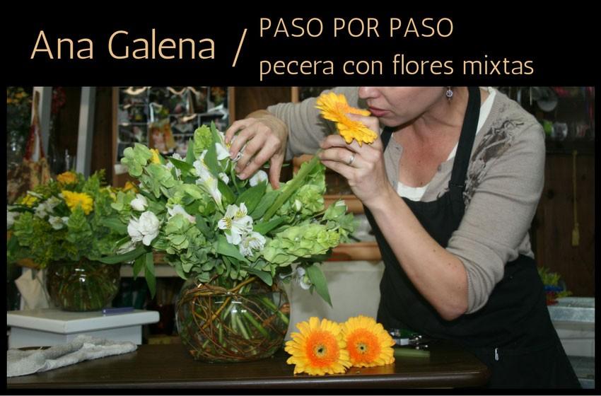 Como Hacer Un Arreglo De Flores En Pecera Ana Galena