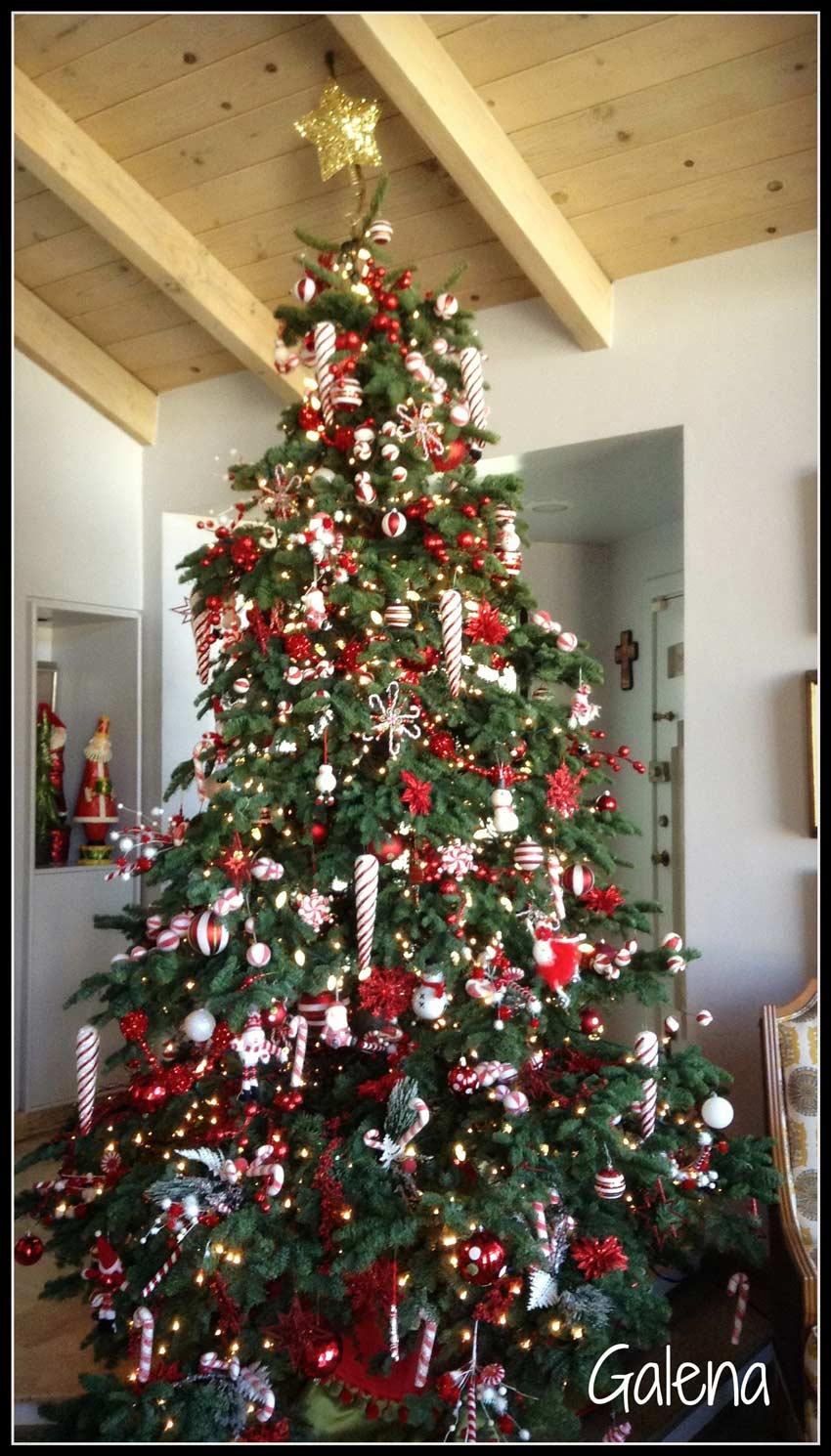 Ideas para decorar el rbol de navidad mi rbol en el 2014 ana galena - Como decorar un arbol seco ...