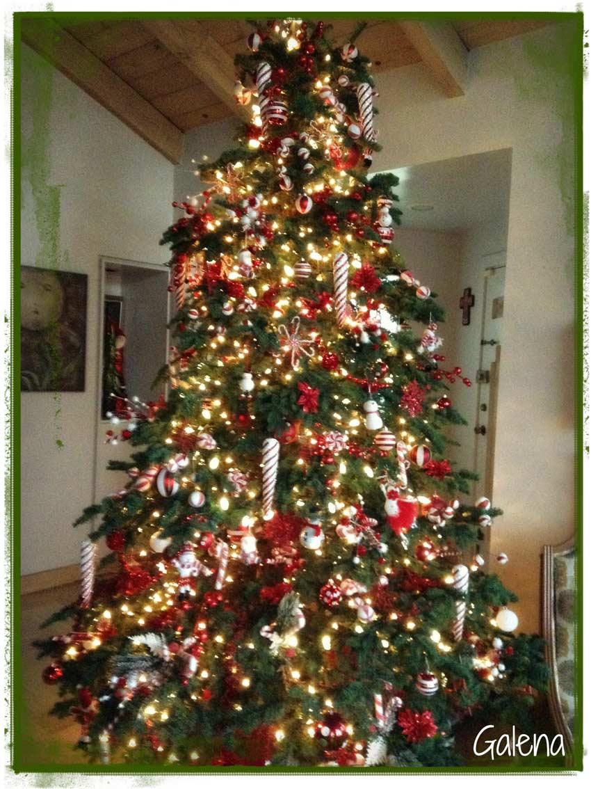 Ideas para decorar el rbol de navidad mi rbol en el - Arbol de navidad de pared ...
